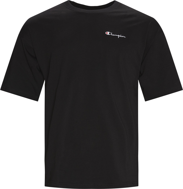 Drop Tee - T-shirts - Regular fit - Sort