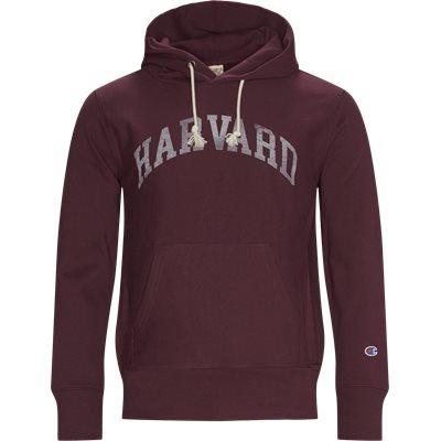Harvard Hoodie Regular fit   Harvard Hoodie   Bordeaux