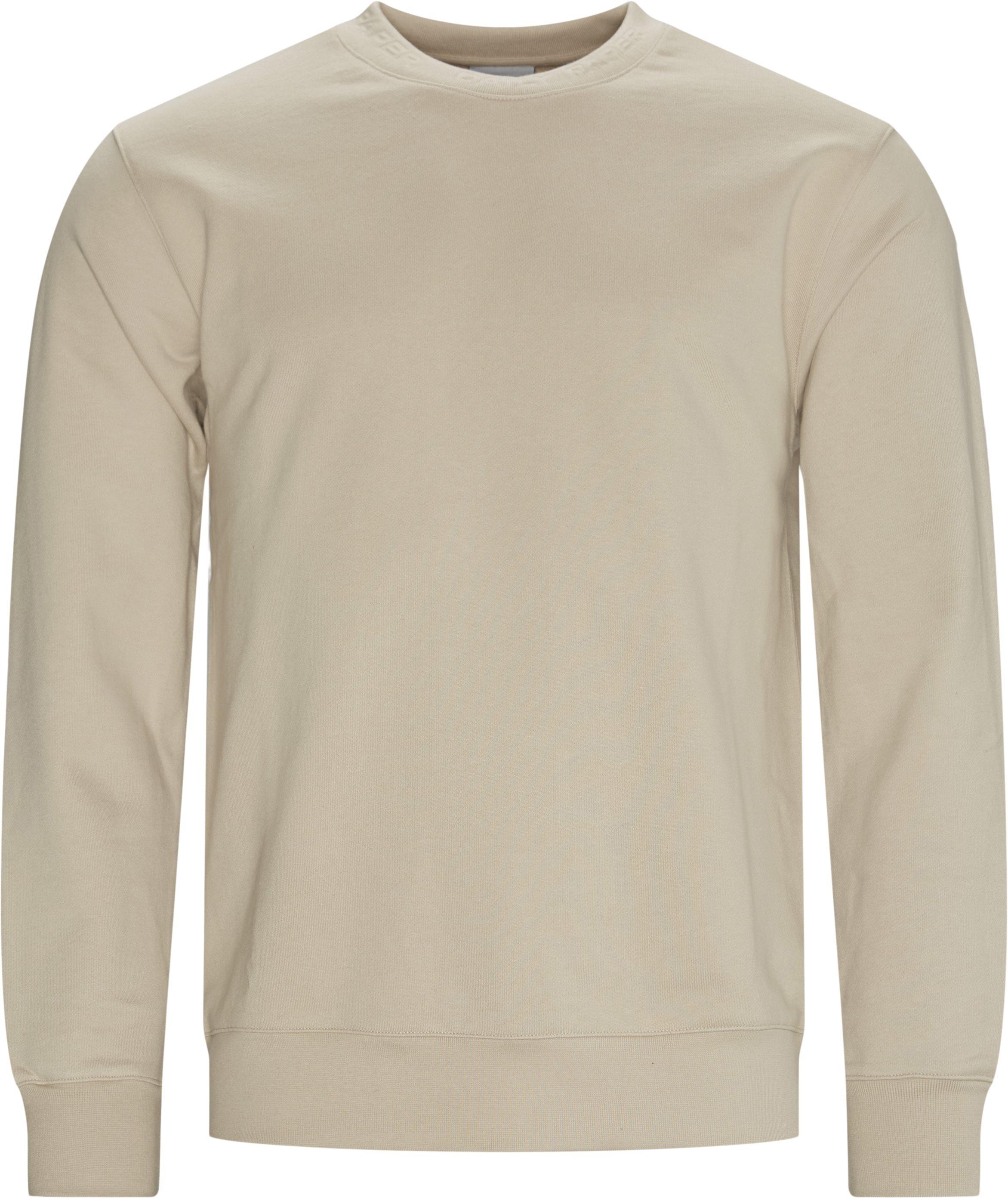 Derib Sweatshirt - Sweatshirts - Regular fit - Sand