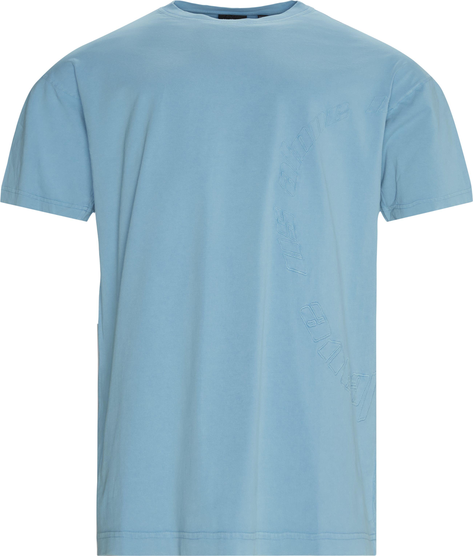 Kenspla Tee - T-shirts - Regular - Blå