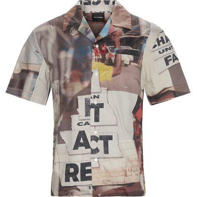 Kovan Collage Kortærmet Skjorte Loose | Kovan Collage Kortærmet Skjorte | Multi