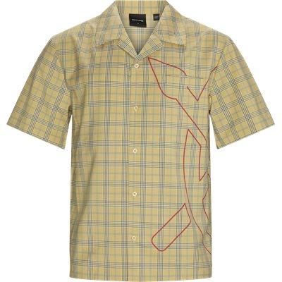 Kovan Kortærmet Skjorte Loose | Kovan Kortærmet Skjorte | Gul
