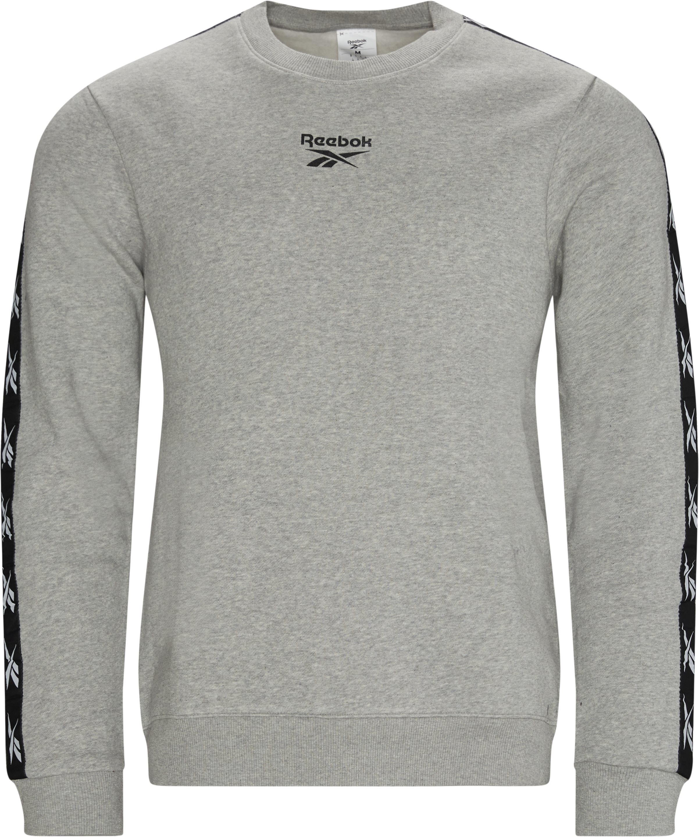 Te Tape Crewneck - Sweatshirts - Regular - Grå