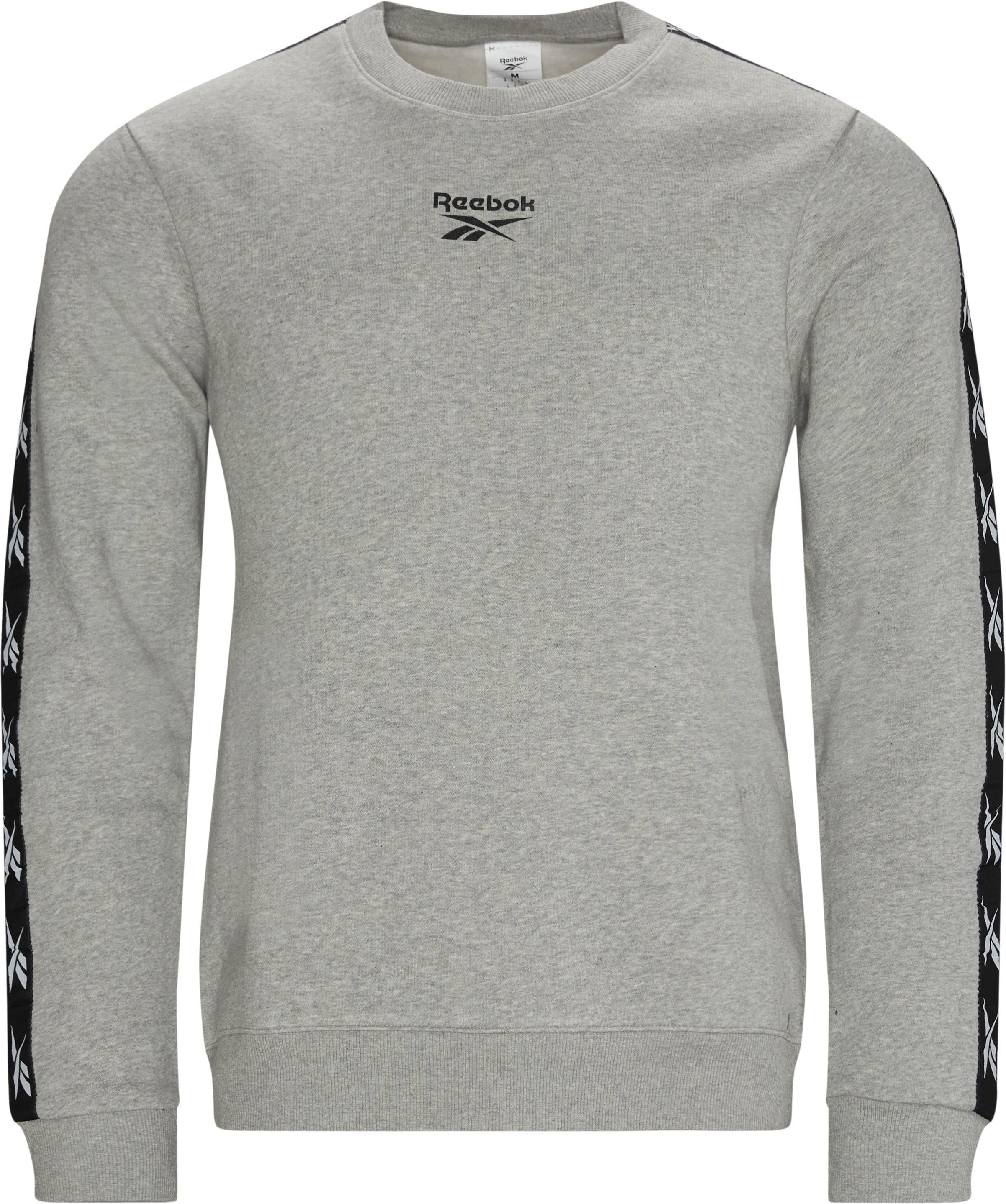 Te Tape Crewneck - Sweatshirts - Regular - Grå