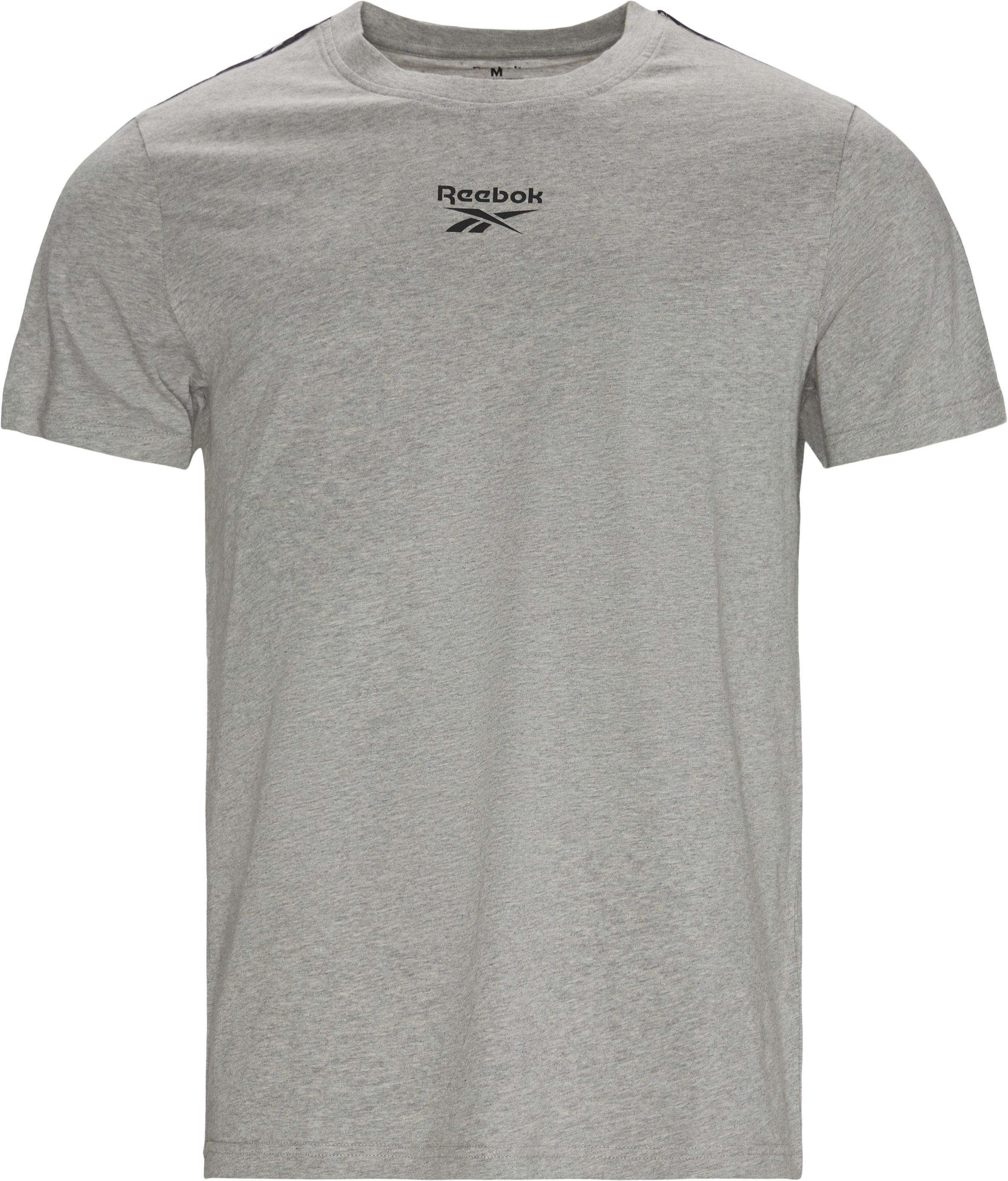 Te Tape Tee - T-shirts - Regular - Grå