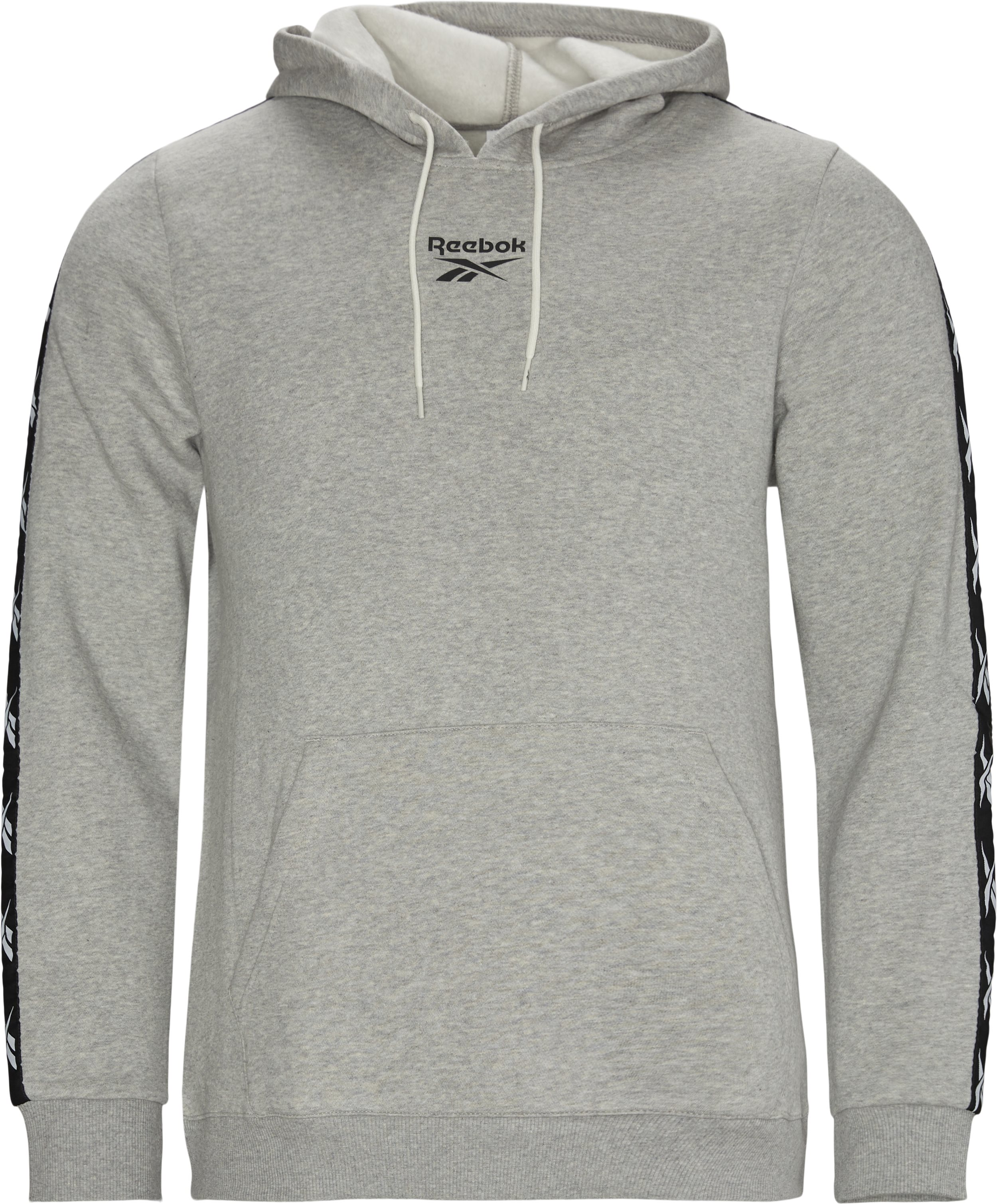 Te Tape Hoodie - Sweatshirts - Regular - Grå