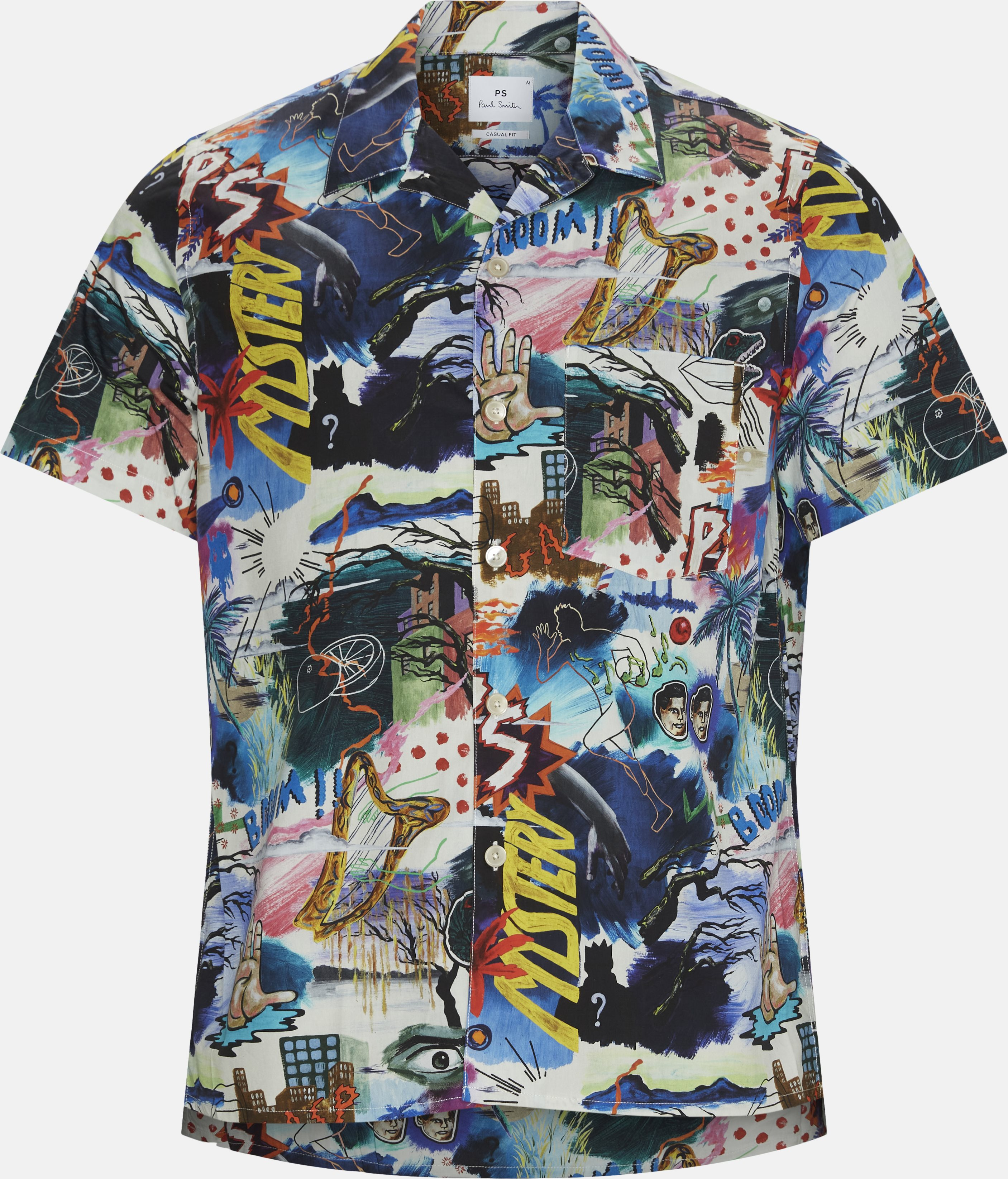 Kortærmede skjorter - Multi