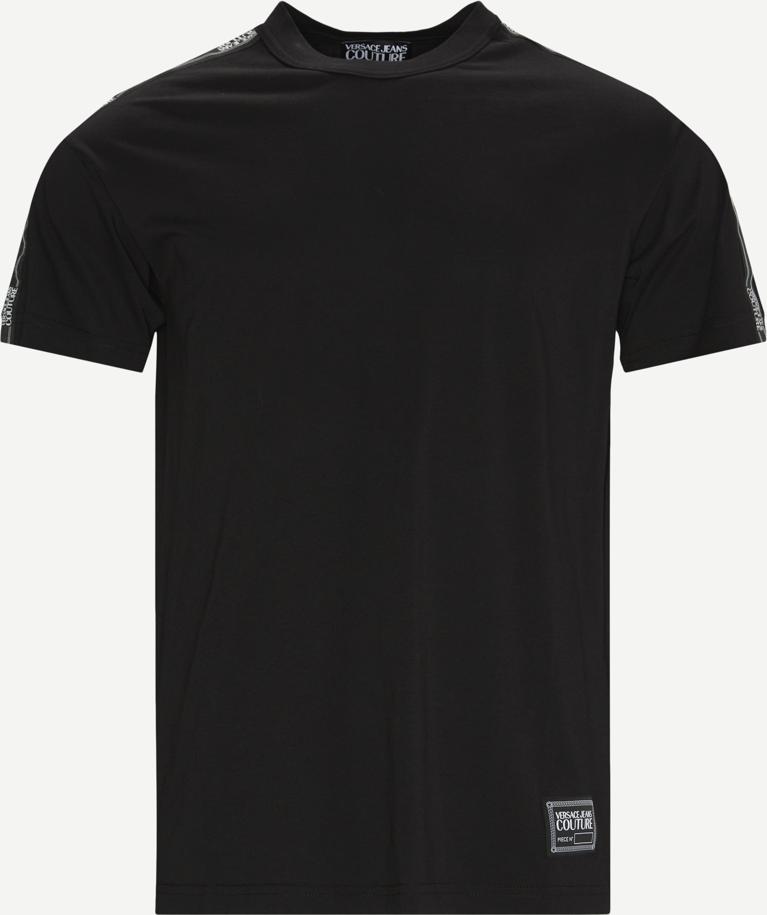 T-shirts - Regular - Black