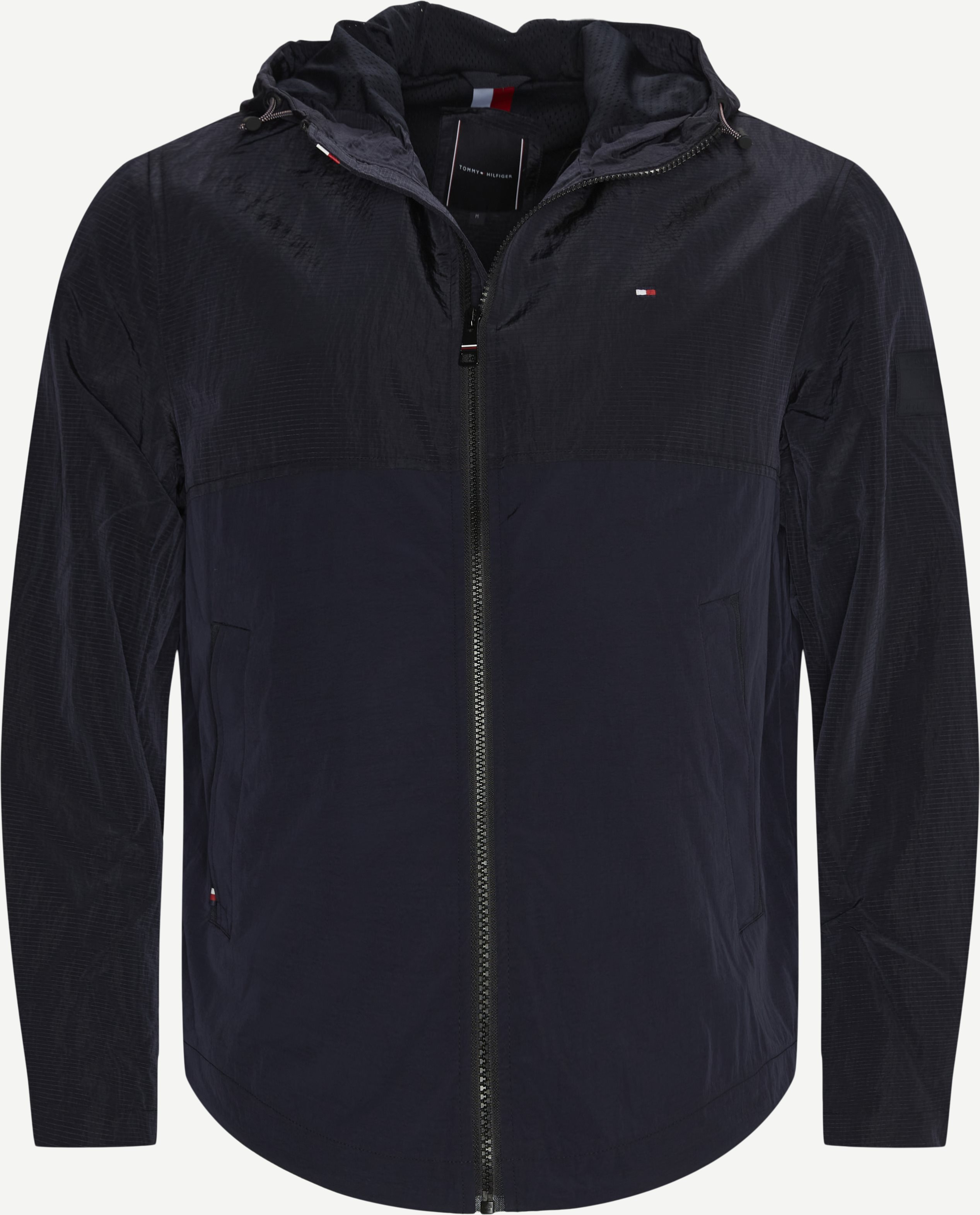 Lightweight Hooded Jacket - Jakker - Regular - Blå