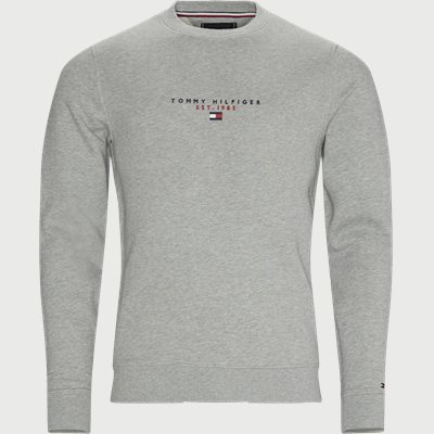Essential Tommy Crewneck Sweatshirt Regular | Essential Tommy Crewneck Sweatshirt | Grå