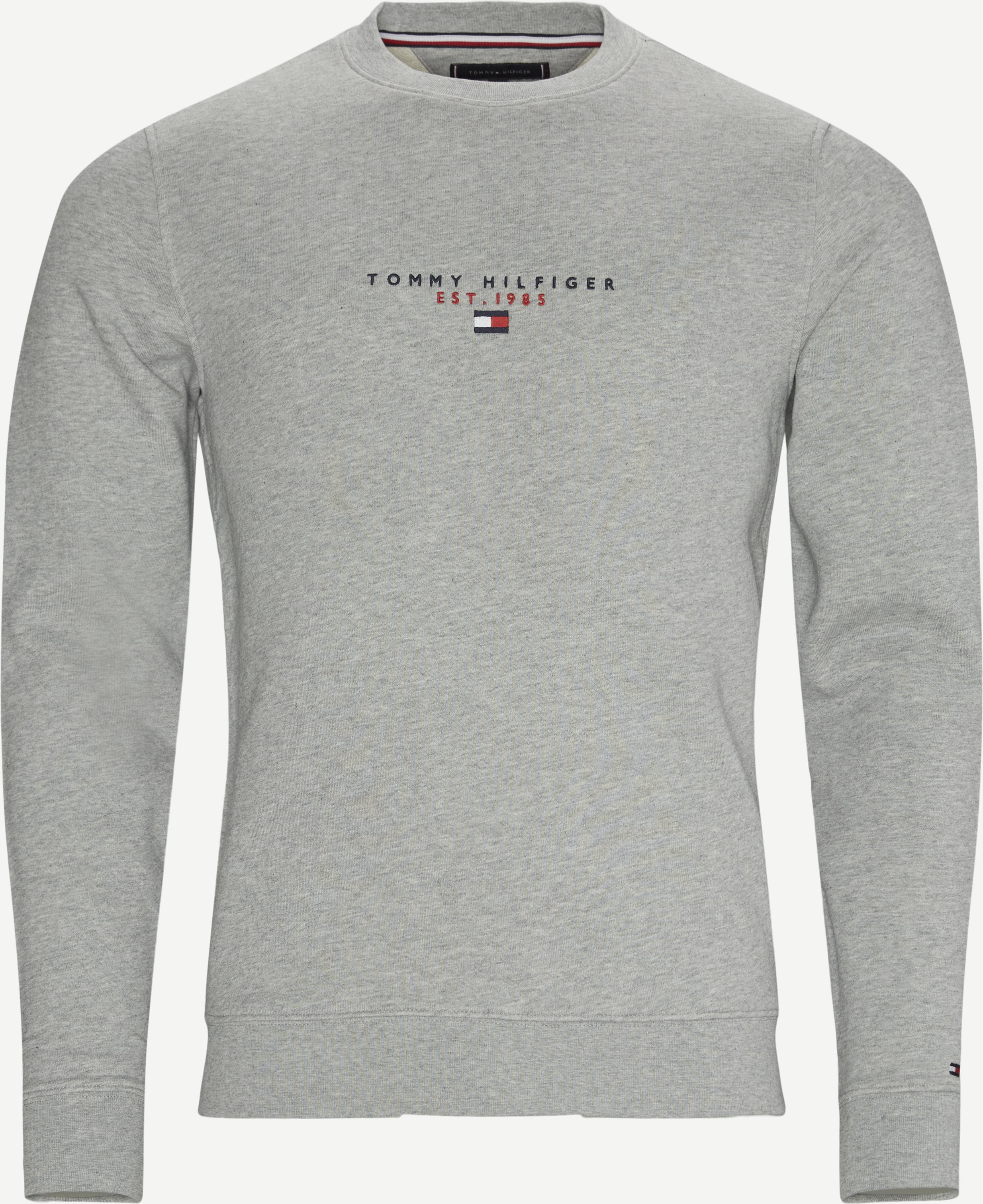 Essential Tommy Crewneck Sweatshirt - Sweatshirts - Regular - Grey