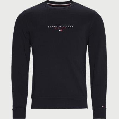 Essential Tommy Crewneck Sweatshirt Regular | Essential Tommy Crewneck Sweatshirt | Blå