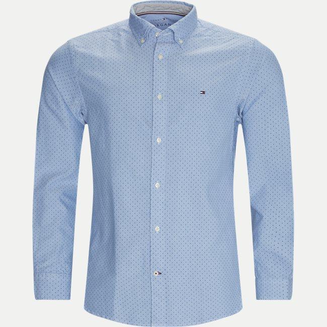 Oxford Mini Print Skjorte