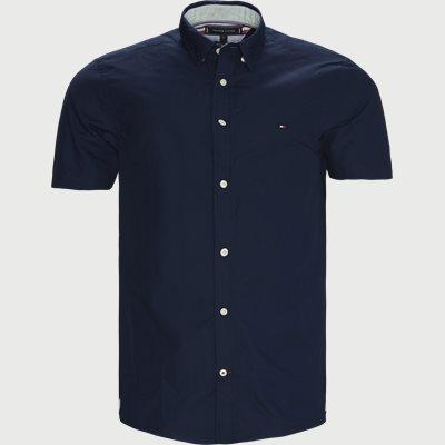 Grid Dobby K/Æ Skjorte Regular fit | Grid Dobby K/Æ Skjorte | Blå