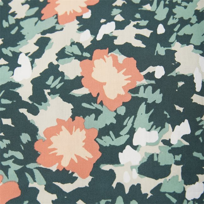 Floral Camo K/Æ Skjorte