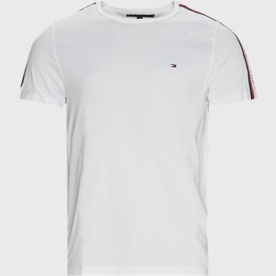 Shoulder Tape T-shirt Regular fit | Shoulder Tape T-shirt | Hvid