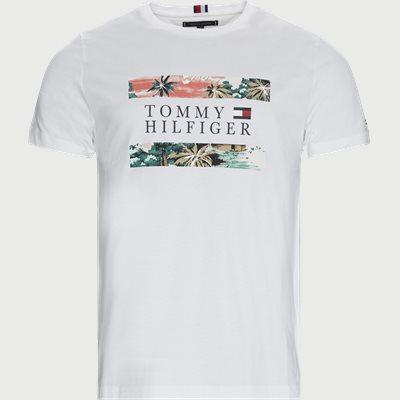 Hawaiian Flag T-shirt Regular fit | Hawaiian Flag T-shirt | Hvid