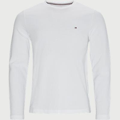 Waffle Long Sleeve T-shirt Regular fit | Waffle Long Sleeve T-shirt | Hvid