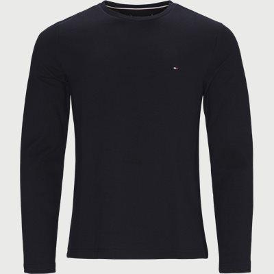 Waffle Long Sleeve T-shirt Regular fit | Waffle Long Sleeve T-shirt | Blå