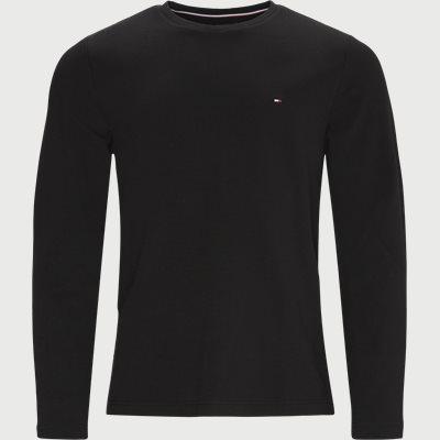 Waffle Long Sleeve T-shirt Regular | Waffle Long Sleeve T-shirt | Sort