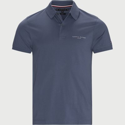 Clean Jersey Slim Polo T-shirt Slim fit | Clean Jersey Slim Polo T-shirt | Denim