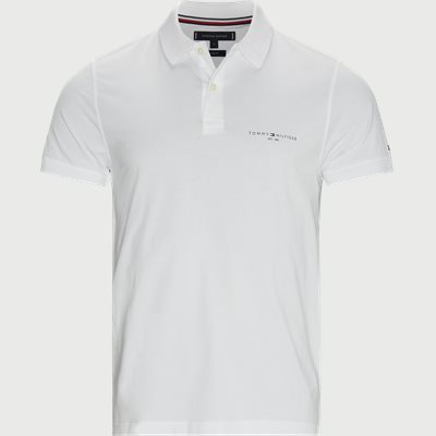 Clean Jersey Slim Polo T-shirt Slim | Clean Jersey Slim Polo T-shirt | Hvid