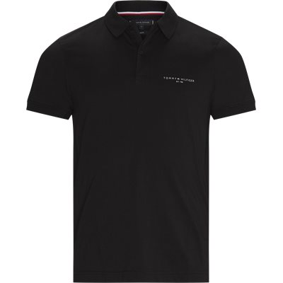 Clean Jersey Slim Polo T-shirt Slim fit | Clean Jersey Slim Polo T-shirt | Black