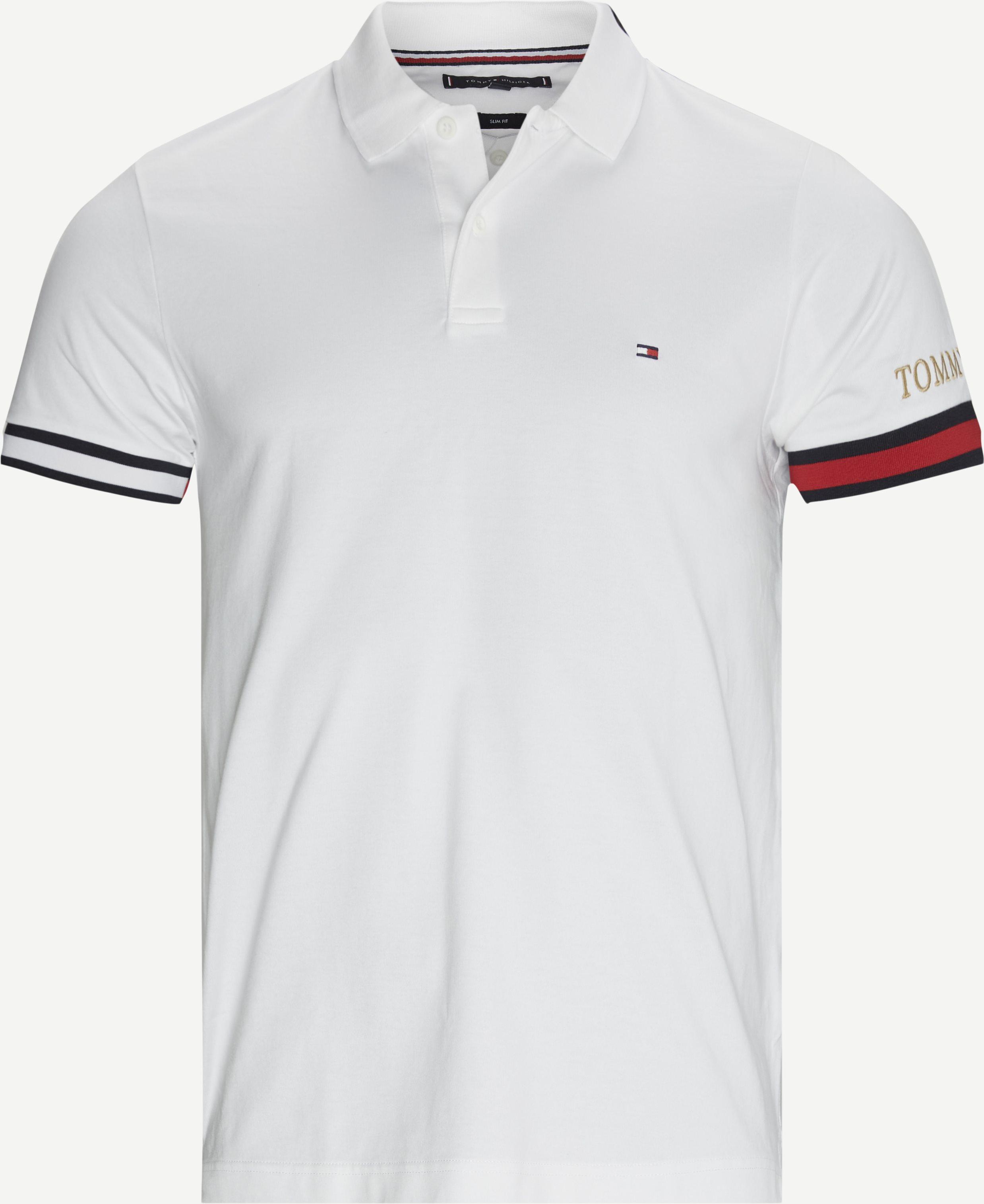 T-Shirts - Slim fit - Weiß
