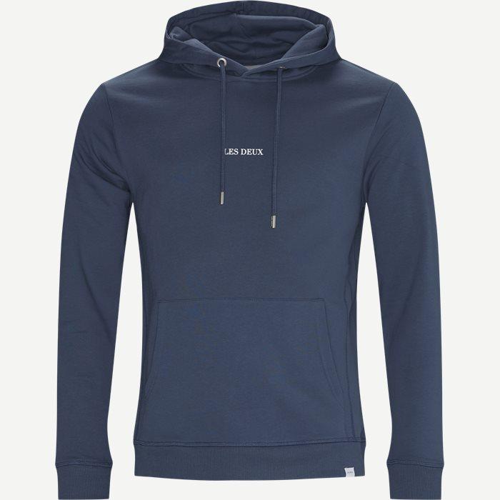 Lens Hoodie - Sweatshirts - Regular - Denim