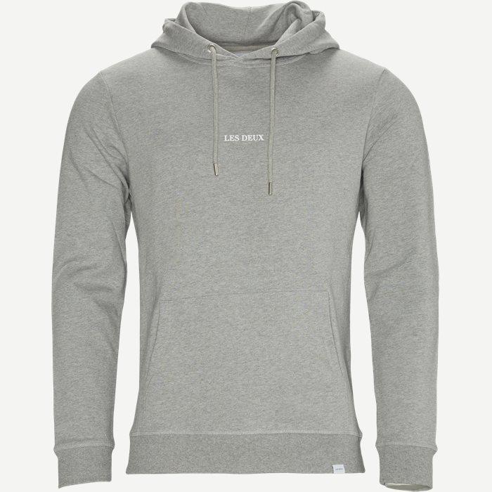 Lens Hoodie - Sweatshirts - Regular - Grå