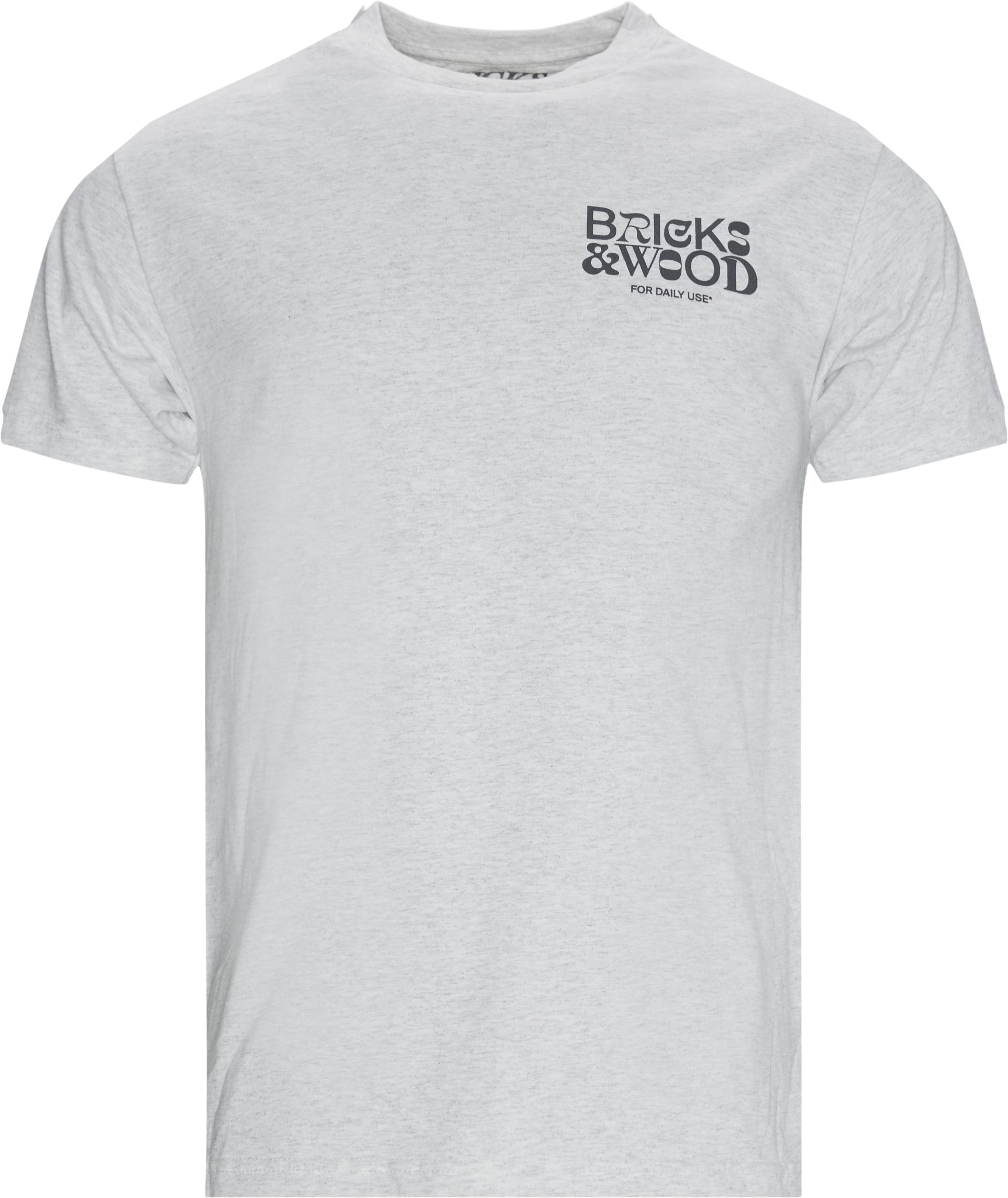 For Daily Use Tee - T-shirts - Regular - Grå