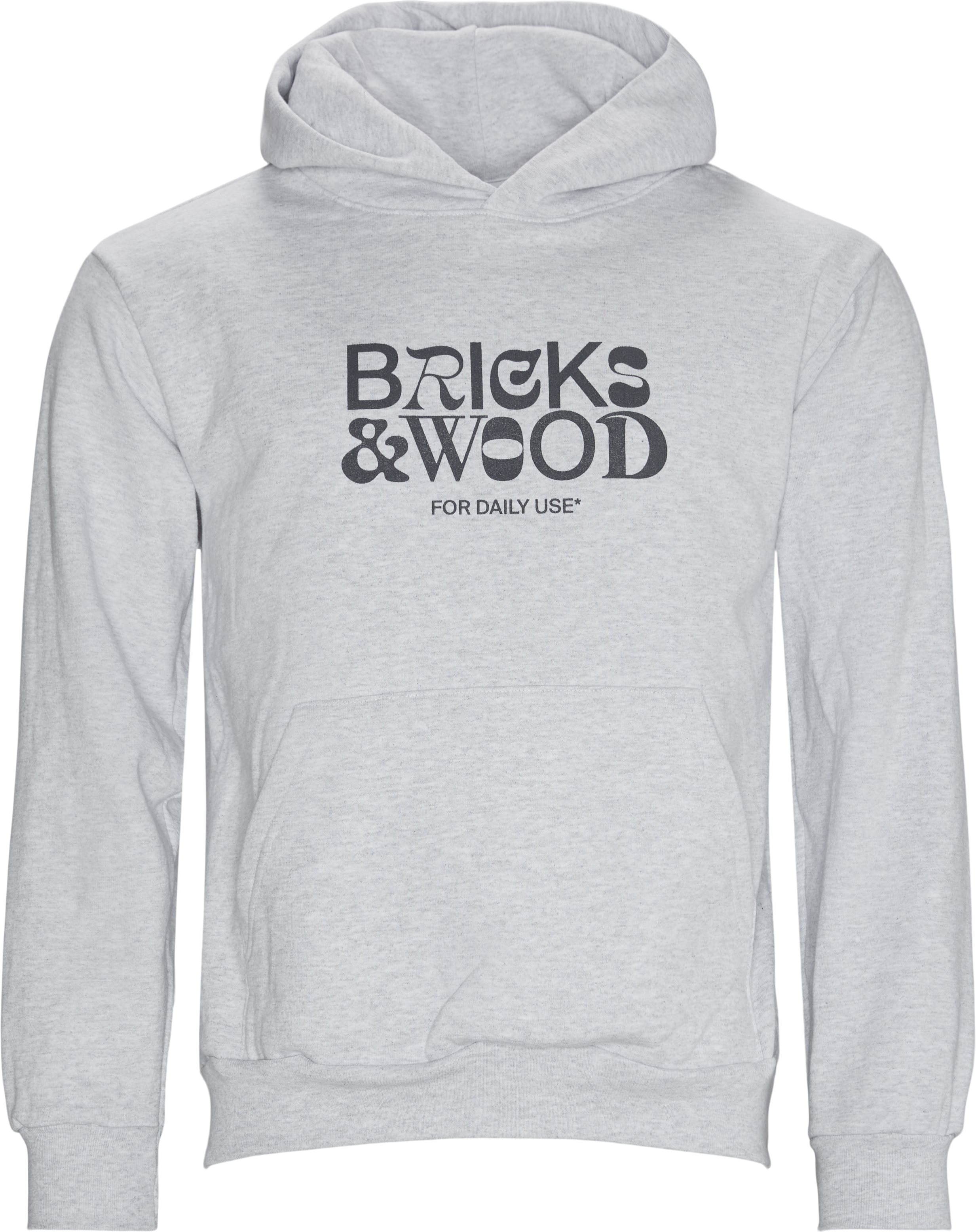 For Daily Use Hoodie  - Sweatshirts - Regular - Grå