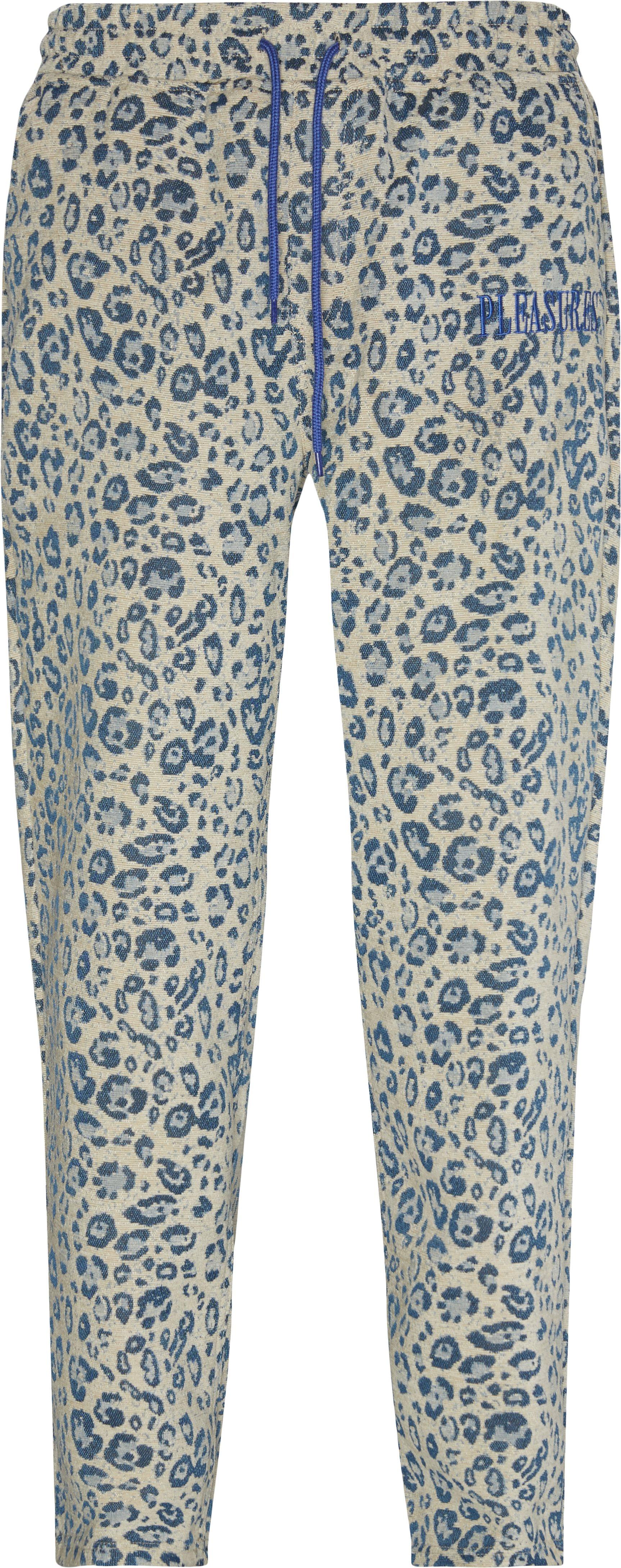 Eclipse Cheetah Beach Pant - Bukser - Relaxed fit - Blå