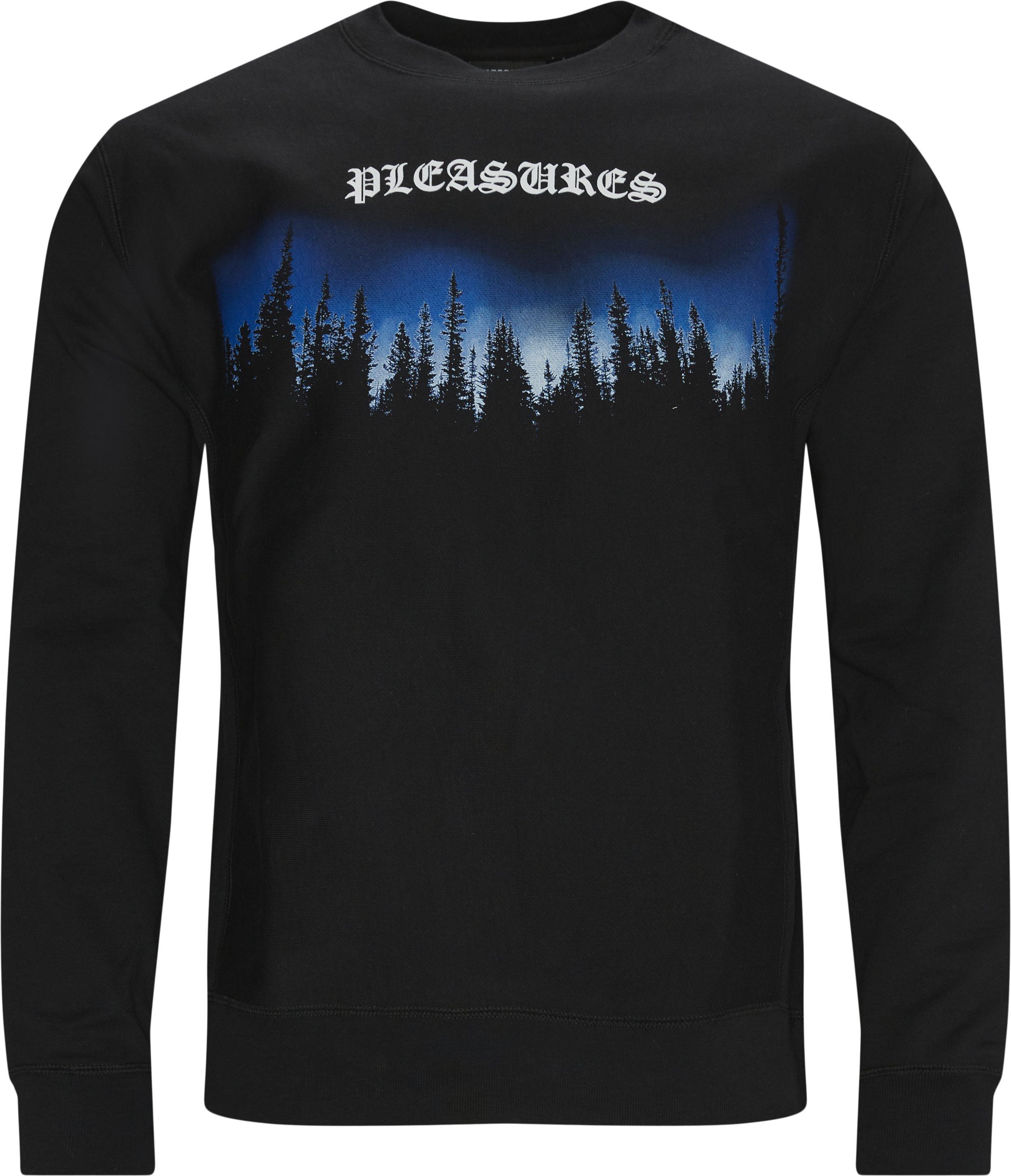Forest Premium Crewneck Sweatshirt - Sweatshirts - Regular - Sort