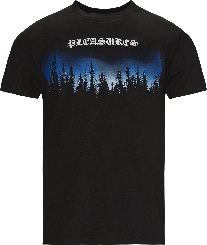 Forest Tee - T-shirts - Regular - Svart