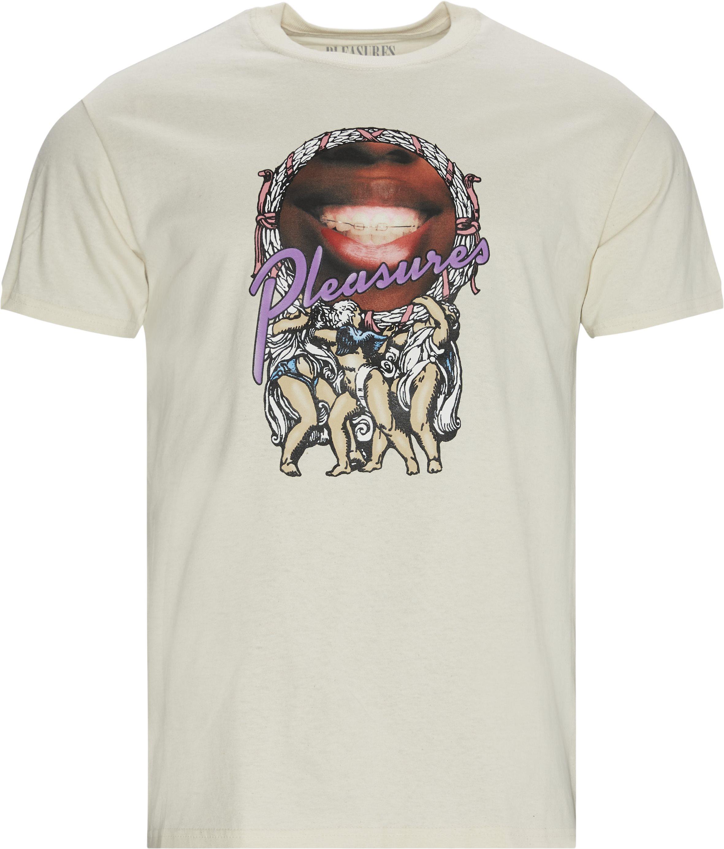 Goddess Tee - T-shirts - Regular - Sand