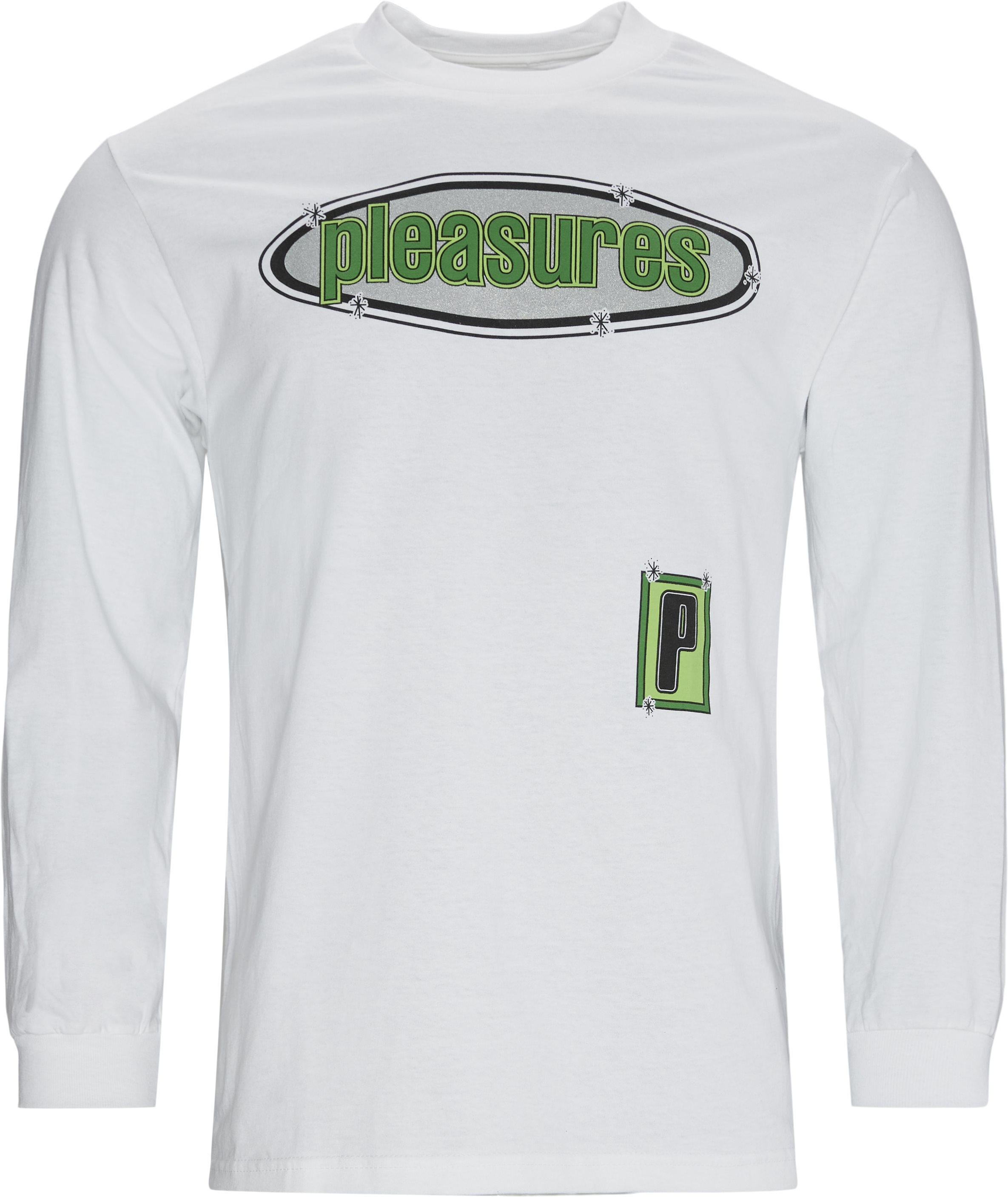 Eazy Long Sleeve Tee - T-shirts - Regular - Vit