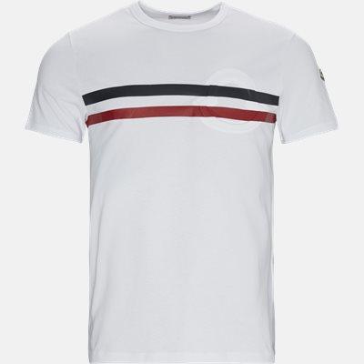 Regular | T-shirts | Hvid