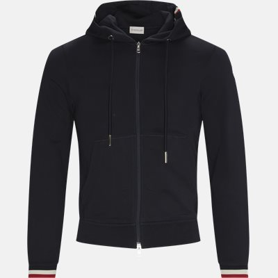 Zip sweatshirt Regular | Zip sweatshirt | Blå