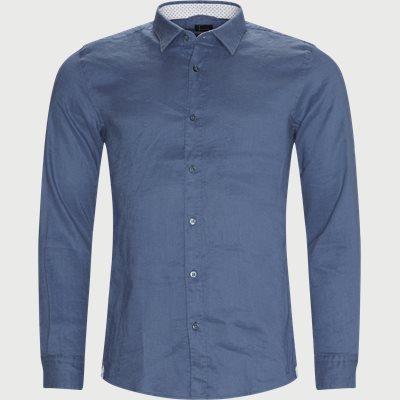 Ronni_53 Shirt Slim fit | Ronni_53 Shirt | Blå