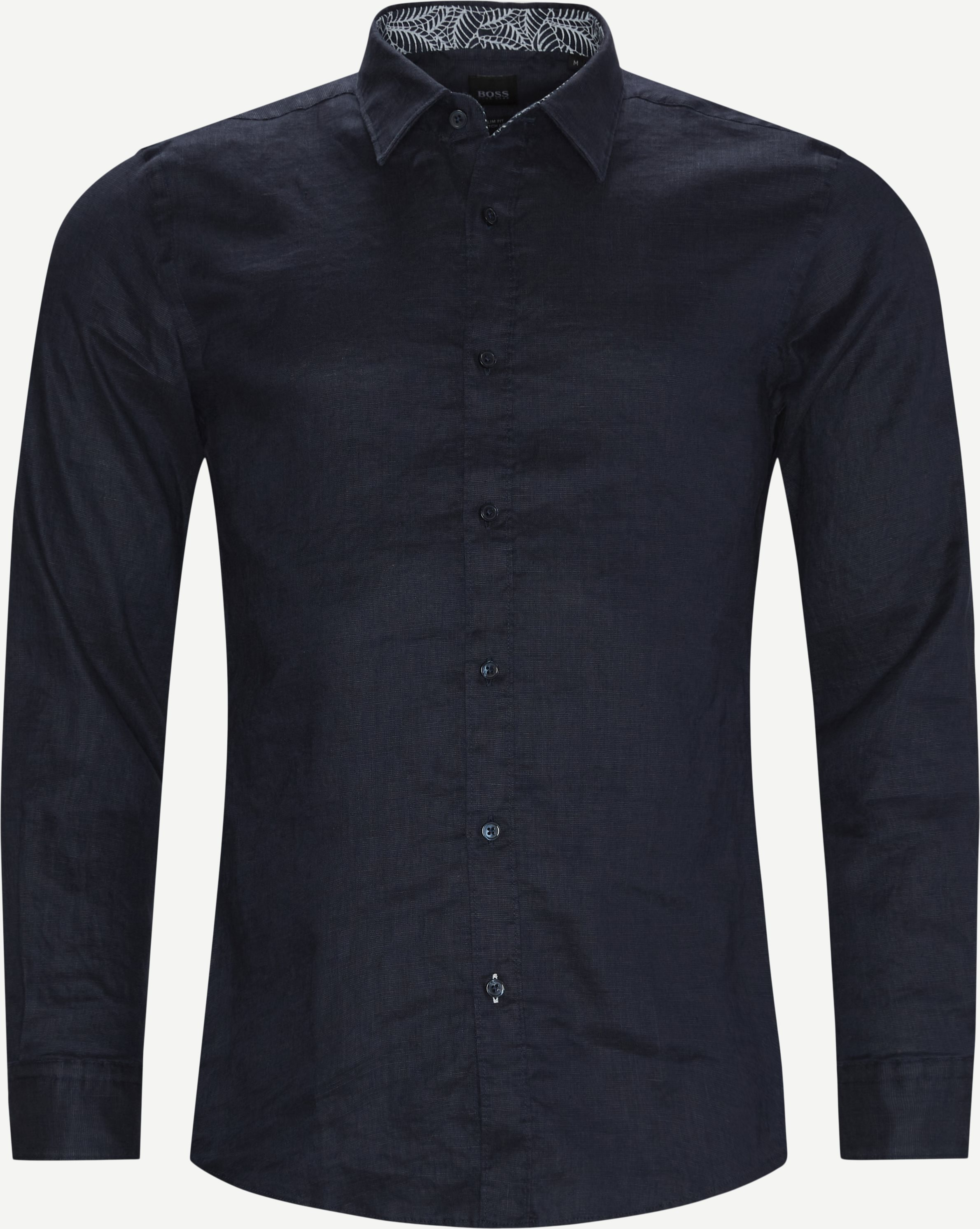 Ronni_53 Shirt - Skjortor - Slim - Blå