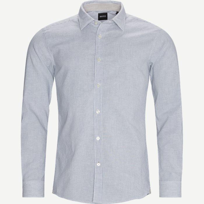 Ronni Shirt - Skjortor - Slim - Blå