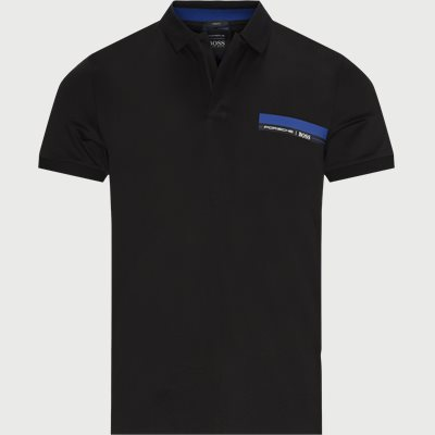 Polston Polo T-shirt Slim | Polston Polo T-shirt | Sort