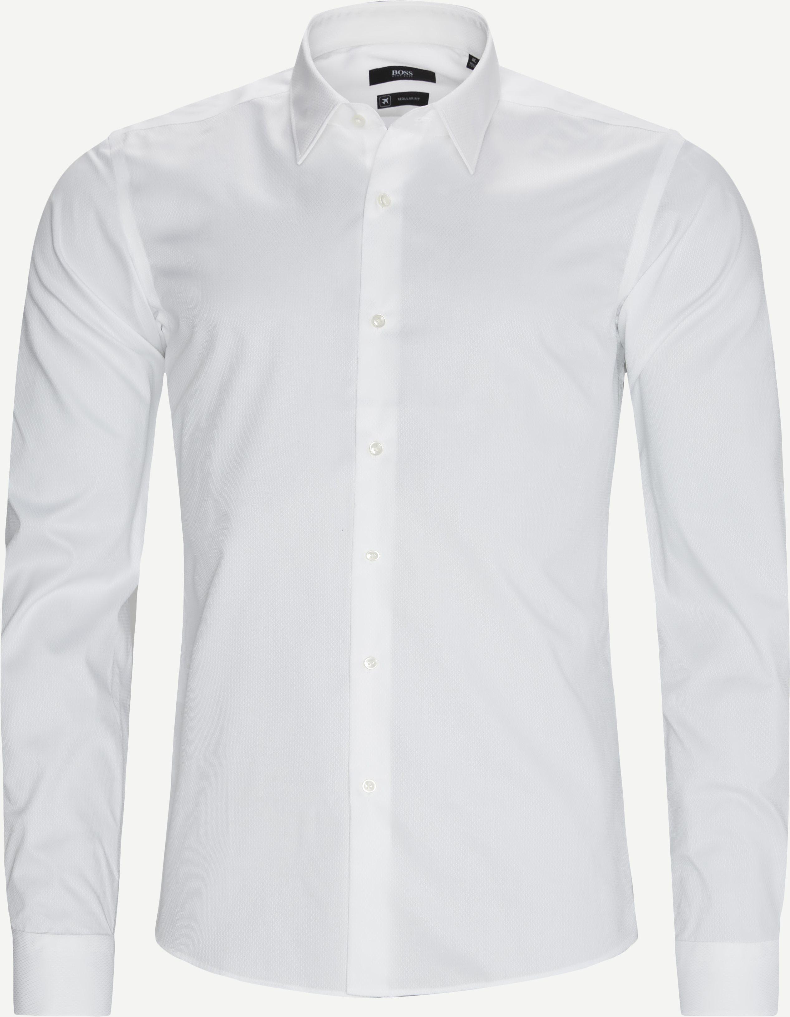 Elliot Skjorte - Skjortor - Regular - Vit