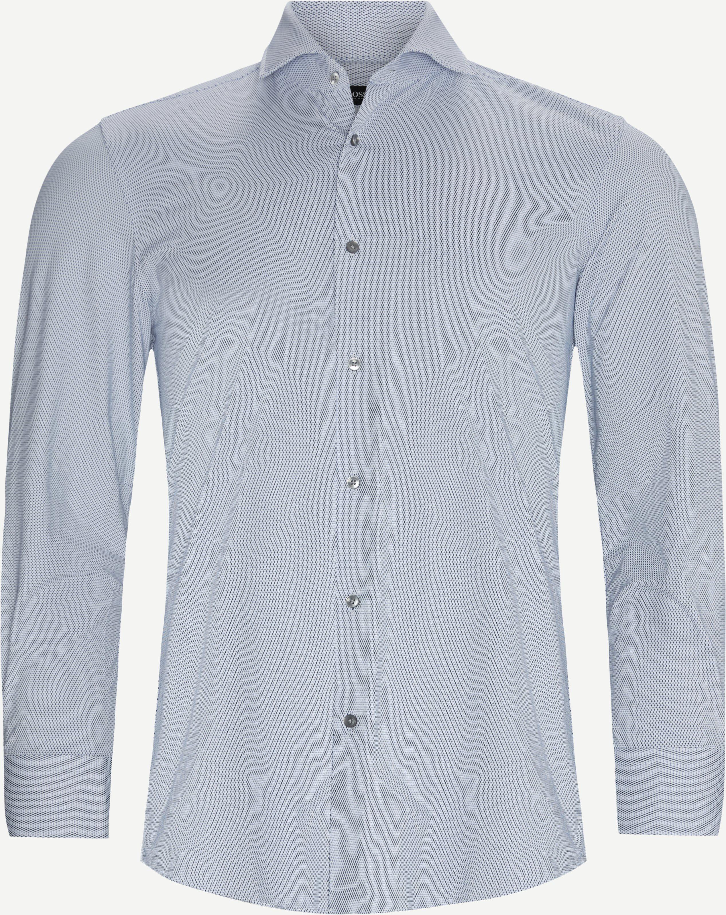 Jason Skjorte - Skjorter - Slim fit - Blå