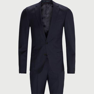 Slim fit | Kostymer | Blå