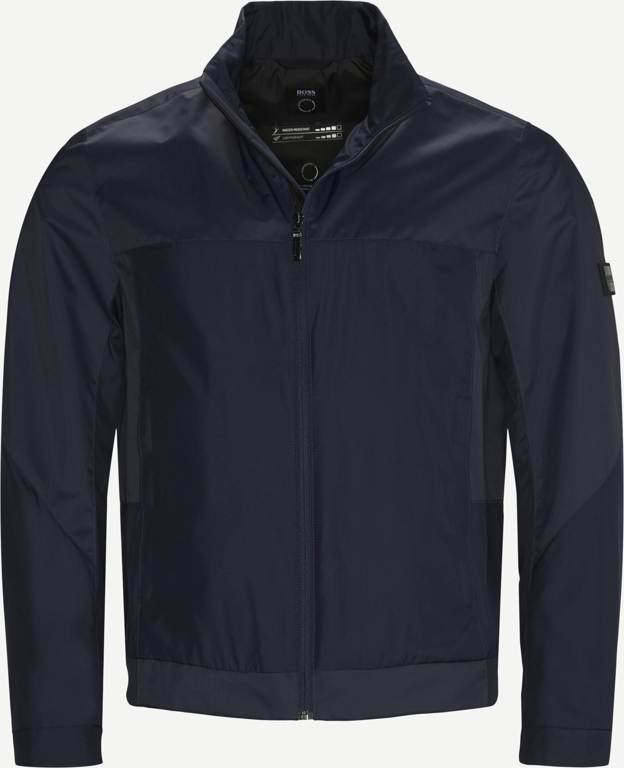 Zircon Jakke - Jackets - Regular - Blue
