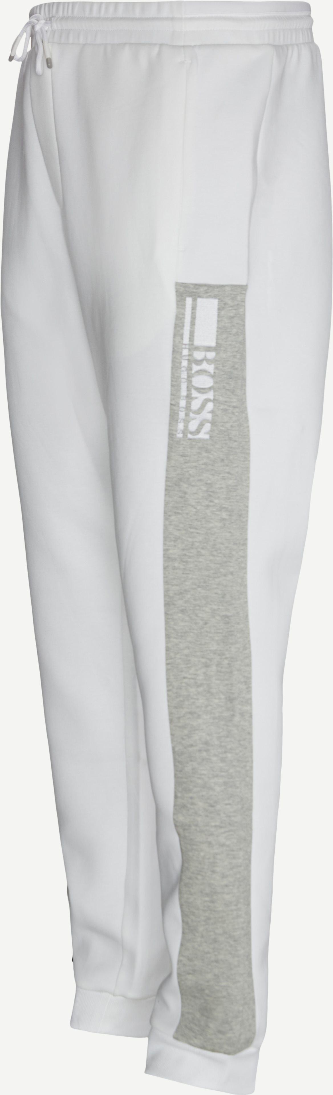 Byxor - Regular fit - Vit