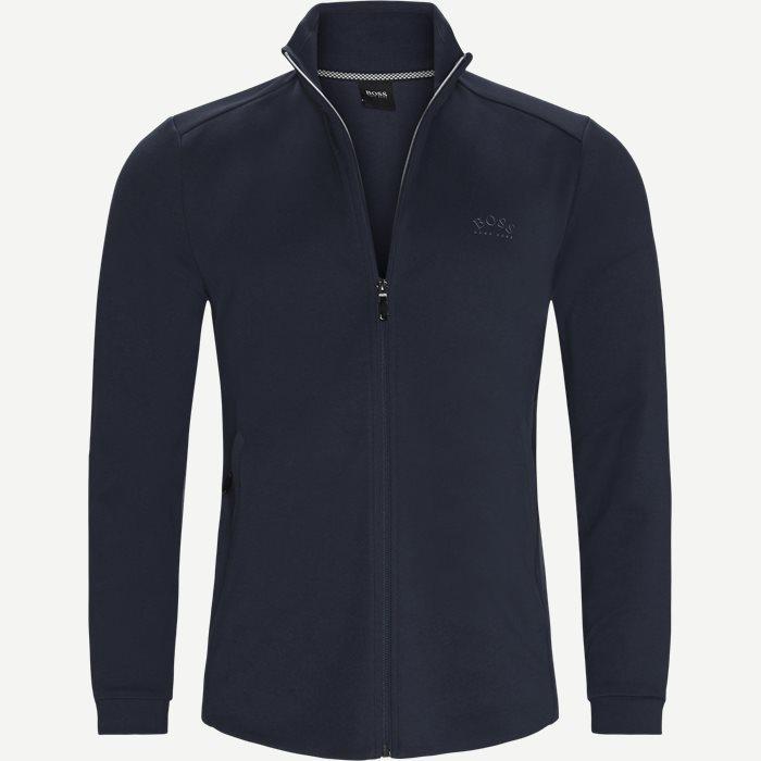 Skaz Zip Sweatshirt - Sweatshirts - Regular - Blå