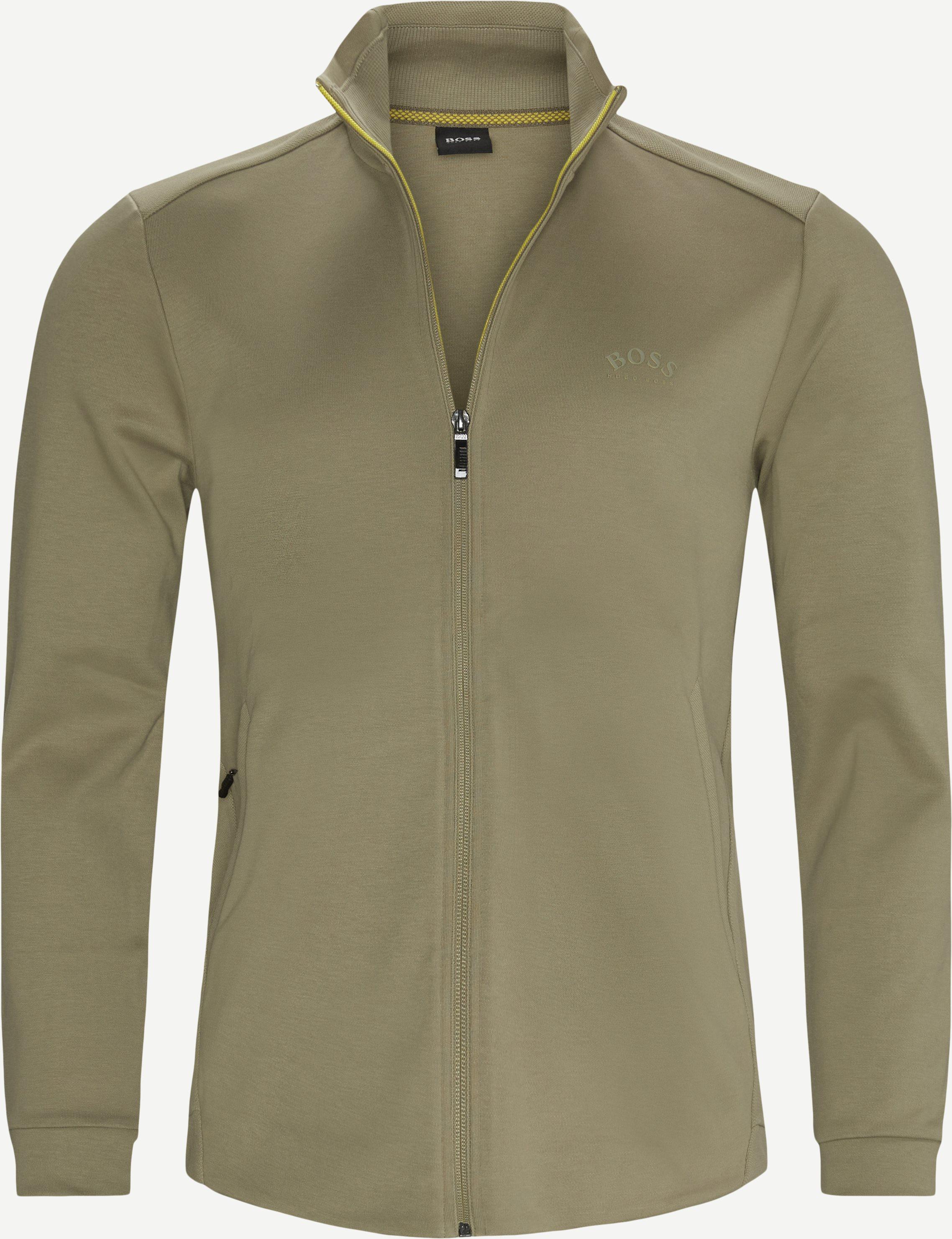 Skaz Zip Sweatshirt - Sweatshirts - Regular fit - Army